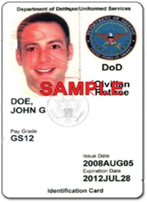 DOD Civilian Retiree Card