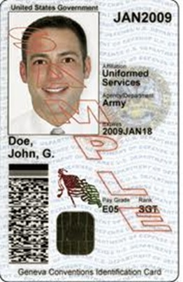 DOD Common Access Card CAC