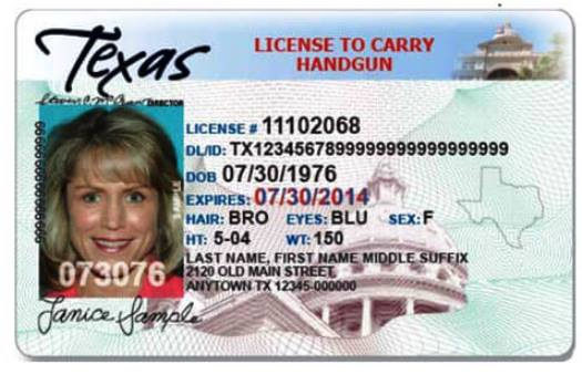 Texas Handgun License